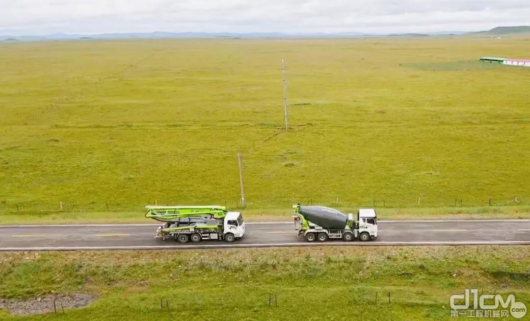中联重科设备稳定、可靠、省油